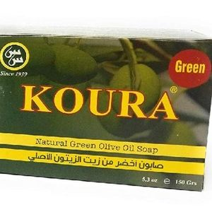 Koura Natural Green Olive Oil Soap by Saifan